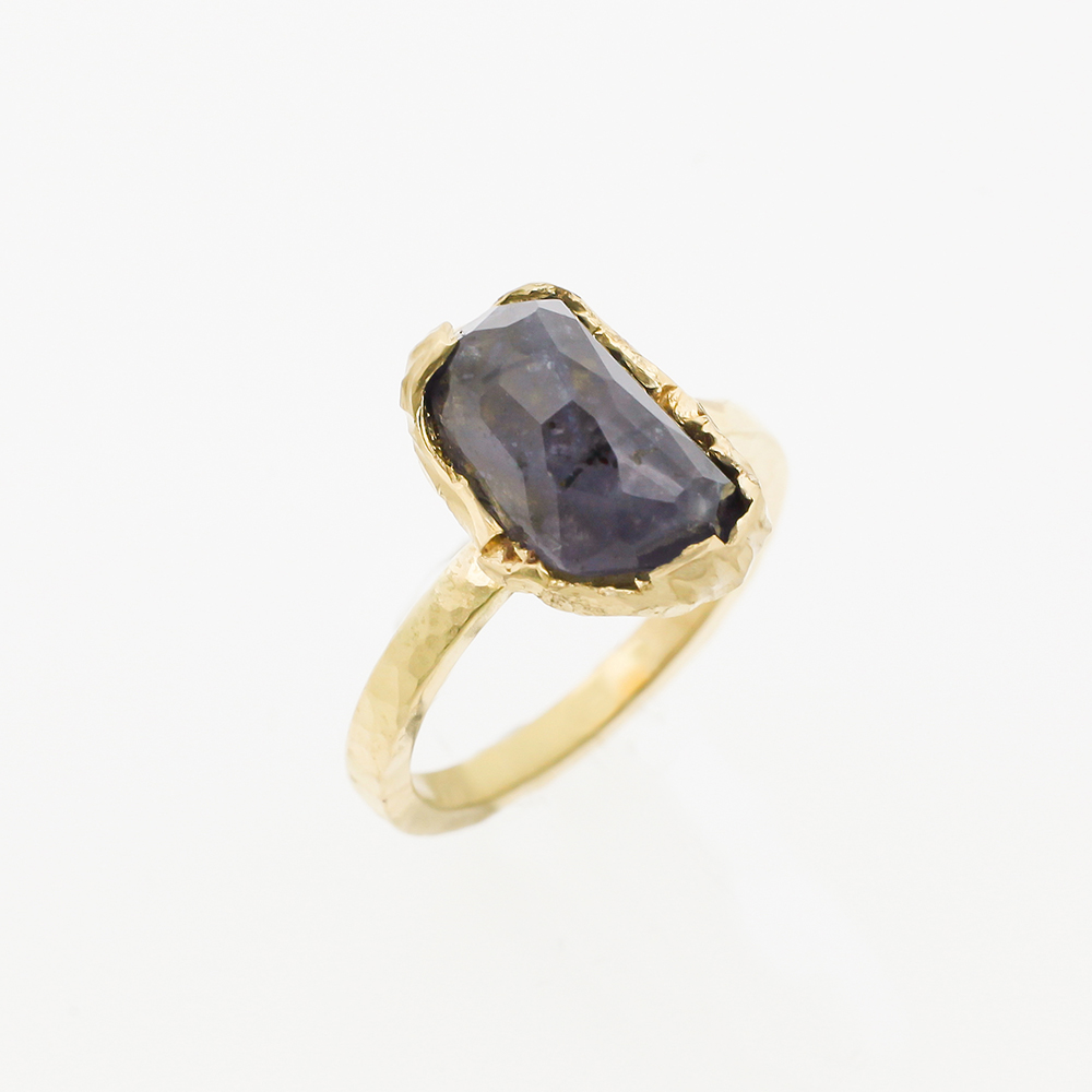 Yellow Gold Ring Ioliet